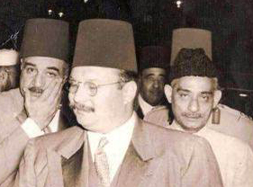 My great grandfather, Hajee Abdul Sattar Sait with King Farukh of Egypt