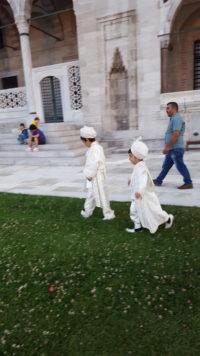Children before their circumcision