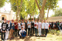 Turkish Students at the Topkapi Palace